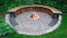 10 Best Pergola Designs, Ideas and Pictures of Pergolas – Top Soop Garden Fire Pit, Fire Pit Backyard, Backyard Patio Designs, Backyard Landscaping, Garden Sitting Areas, Sunken Fire Pits, Outside Fire Pits, Landscaping Around Trees, Fireplace Garden