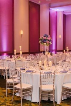 Plum and Pink Illinois Wedding at the Westin Chicago Captured by Britta Marie Photography - MODwedding