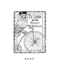 the owl in ex libris - Google Search
