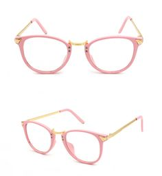 7926c5db328b50 cool Korea retro plain mirror big round metal thin legs plain glass  spectacles frame glasses frame glasses box factory direct 8975