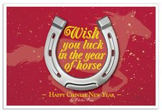 2014 Chinese New Year, year of horse.
