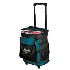 Jacksonville Jaguars NFL Rolling Cooler