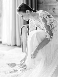 Elegant James Bond inspired Winter Wedding in the Austrian Alps via Magnolia Rouge Elegant Winter Wedding, Timeless Wedding, Pronovias Dresses, Bridal Looks, James Bond, Alps, Elegant Dresses, Letterpress, Wedding Stationery