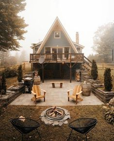 A Frame House Plans, A Frame Cabin, Tiny House Cabin, Cabin Homes, Tiny Houses, Cabin Design, House Design, Cabin In The Woods, Cabins And Cottages