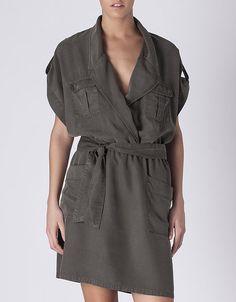 Vestido denim estilo camisa | SHOP BY TREND | SHOP ONLINE SUITEBLANCO.COM