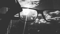 Dirty View #glasses #sun #blacknwhite
