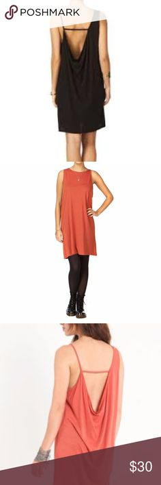 Cheap Monday Domi Dress Rust Medium Swim Cover Up THIS IS FOR A RUST COLORED DRESS< NOT BLACK. I used this as a swimsuit cover up for a couple years, its perfectly light weight and shows off your tan in the back. Size medium, but would fit a small as well. I am a normal small. I ship within 24 hours!! Cheap Monday Dresses