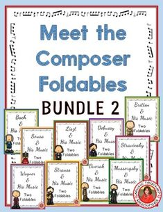 Music Composers: Music Listening Activities: Savings Bundle 2 Music lessons for kids: Music Lessons For Kids, Music Lesson Plans, Piano Lessons, Music Classroom, Classroom Resources, Classroom Ideas, Music Teachers, Teaching Resources, Teaching Ideas