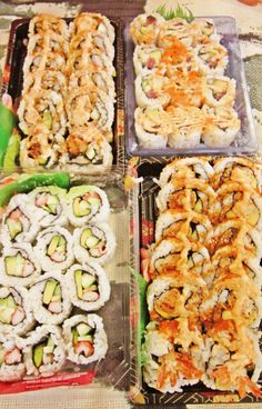 I'm having a homemade sushi party next month! :)