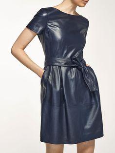 Jumpsuit Dress, Dress Skirt, Wrap Dress, Shirt Dress, Office Outfits, Fall Outfits, Fashion Outfits, Womens Fashion, Leather Dresses