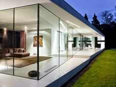 Glass House in Holland Philip Johnson and Ludwig Mies van der Rohe