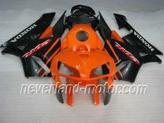 Honda CBR 600RR F5 2005-2006 ABS Verkleidung - Orange/Schwarz #cbr600rrverkleidung #verkleidunghondacbr600rr