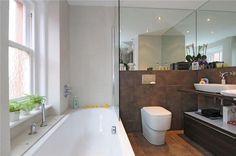 Modern Country Style: Zoella's Old Apartment In Brighton: Home Tour Click through for details. Zoella's old bathroom