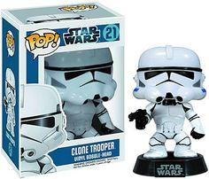 Funko Pop Star Wars 21 Clone Trooper