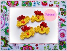 Chicken Crochet Pattern