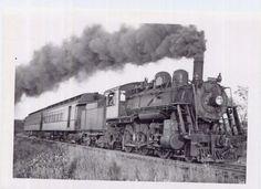 Railroad: B&M 2-6-0 #1496 on Central Mass
