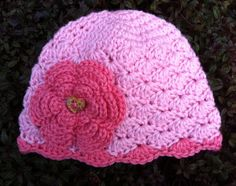 Crochet Baby Girl Hat by BettyBoopCrochet