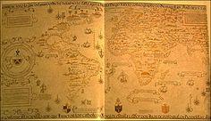 "Diogo Ribeiro -   World Map by Diogo Ribeiro, ""Propaganda map"" (1529), Biblioteca Apostolica Vaticana Diogo Ribeiro, a Portuguese cartographer working for Spain, made what is considered the first scientific world map"
