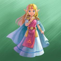 The Legend of Zelda-A Link Between Worlds
