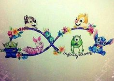 Disney infinity sign drawing