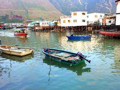 #Tai O fishing village #Lantau Island