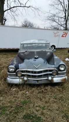 Another Great Cadillac. This One Found in Spiro, Oklahoma. Tripper's Travels.