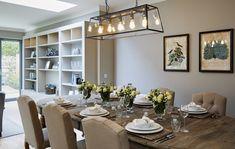 GATE LODGE — Helen Turkington Luxury Dining Room, Dining Room Design, Luxury Living, Large Open Plan Kitchens, Open Plan Kitchen Dining, Westminster, Helen Turkington, Dublin, Timber Staircase
