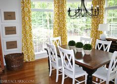Our Breakfast Room: Before & After - Emily A. Clark