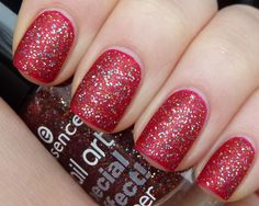Essence - Copper'ize Me (shown here with matte top coat, over red)