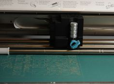 Chomas Creations engraving tip in the Silhouette Cameo