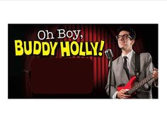 Tickets on Sale for Oh Boy, Buddy Holly! This is a new show in case anyone has seen our other Buddy Holly Shows. Call 780-484-2424 to reserve your seats!