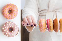 עטור מצחך זהב ורוד • Long Story Short | סופגניות חנוכה | pink donuts