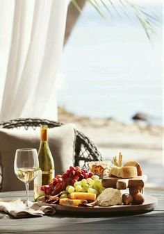 Wine and the beach...