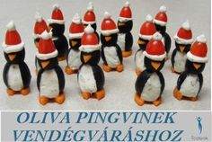Cream Cheese Olive Penguins Christmas Yule Hanukkah Kwanzaa - Spruce Up Your Hol. Cream Cheese Olive Penguins Christmas Yule Hanukkah Kwanzaa – Spruce Up Your Hol… Cream Cheese Finger Food Appetizers, Christmas Appetizers, Appetizers For Party, Appetizer Recipes, Christmas Party Food, Christmas Treats, Christmas Baking, Food Themes, Food Ideas