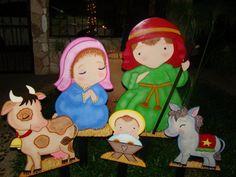 manger in the garden. Hecho por Lisbette Monasterios @creativelis