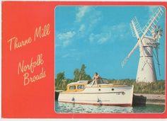 Thurne Mill Norfolk Broads Old Postcard 0805 | eBay