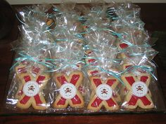pirate party ~ cookie favors