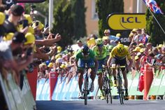 2016 Tour de France wins Best Stage Race in Cyclingnews Reader Poll (Photo: Chris Froome of Sky tries to sprint against Peter Sagan).