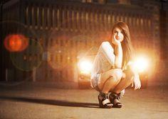 Love the creative lighting! Alternative Senior Portrait Artists - Seniors by Photojeania