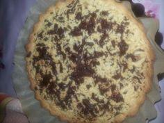 Crostata pera e cioccolata