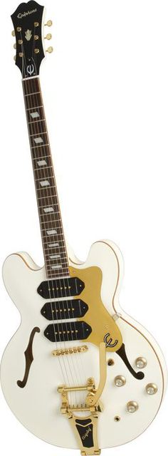 Epiphone Limited Edition Riviera Custom Royale P93 Pearl White