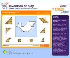 Invention at Play: Fun website for kids with problem solving, invention, visual thinking, and puzzles.