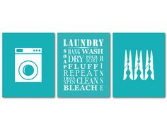 Laundry Symbols Wall Art Gorgeous Laundry Room Wall Art  8 X 10 Or Larger Print  The Laundry 2017