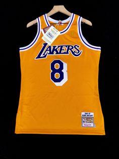Kobe Bryant LA Lakers Mitchell   Ness NBA Jersey 40 d5b0b3afb