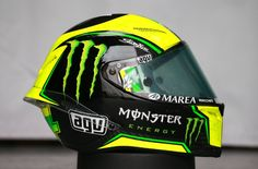 Pol Espargaro's helmet, Qatar MotoGP test, March 2015
