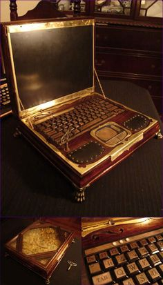steampunk computer now this looks cool