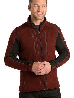 Kuhl M's Interceptr Jacket- brick