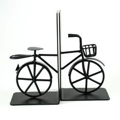 Bicycle Iron Bookends