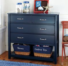 Kids' chest of drawers (boys) - CAMP  - ArchiExpo - Could definitely be done as a DIY project! Love this.