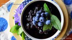 Dżem z borówki amerykańskiej | Kulinarne przygody Gatity - przepisy pełne smaku Acai Bowl, Fruit, Breakfast, Acai Berry Bowl, Morning Coffee